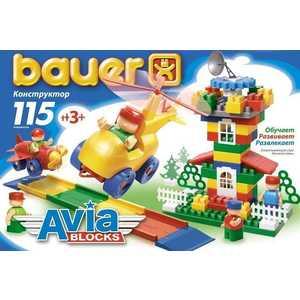 Bauer Конструктор Авиа 115 элементов 245 bauer конструктор авиа 200 элементов 246