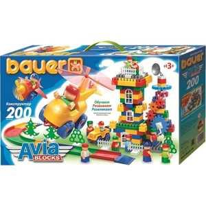 Bauer Конструктор Авиа 200 элементов 246 конструкторы bauer стройка 50 элементов