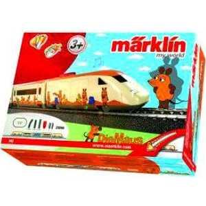 Фотография товара железная дорога Marklin ''Mouse'' Стартовый набор, инфракрасный пульт 29206 (355654)