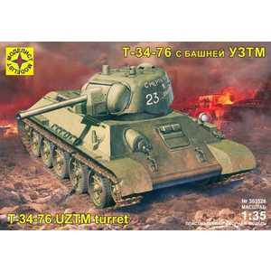 Моделист Модель танк Т -34-76 с башней УЗТМ (1:35) 303526