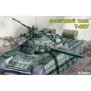 Моделист Модель танк Т -80У (1:48) с микро элементовектродвигателем 304871 цена