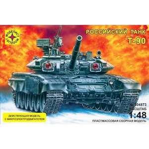 Моделист Модель танк Т -90 (1:48) с микро элементовектродвигателем 304873 цена