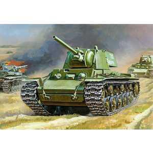 Фотография товара звезда Модель Советский танк КВ-1 3539 (355698)