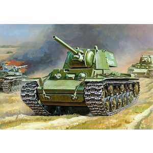 Звезда Модель Подарочный набор Советский танк КВ-1 3539 П модель танка кв 1 обр 1940г 1 100 бронза