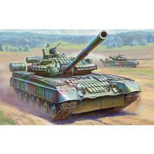 Звезда Модель Танк Т -80БВ 3592
