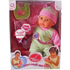 Mary Poppins Интерактивная кукла Покорми меня мамочка 451099 игрушка mary poppins вика покорми меня 451101