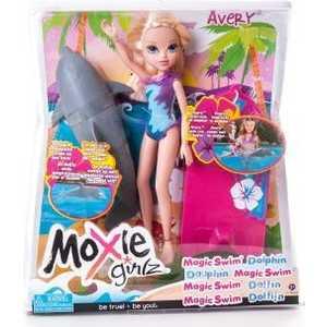 Moxie Кукла с плавающим дельфином, Эйвери 503125 moxie dolls