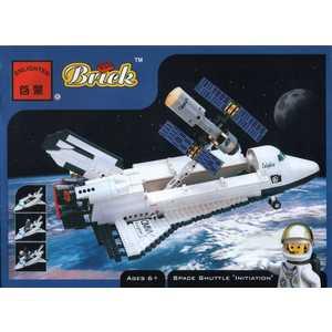 Brick Конструктор Шатл Запуск, 593 детали 514