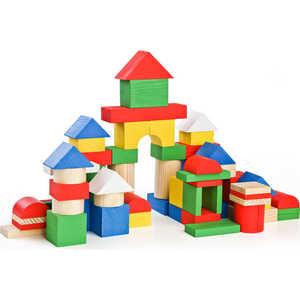 Томик Конструктор Цветной, 65 деталей 6678-65 томик деревянный конструктор цветной 26 деталей