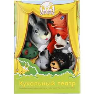 Жирафики Кукольный театр Теремок, 6 кукол 68316 тент tengu mark 15t