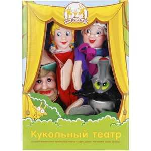 Жирафики Кукольный театр Красная шапочка, 4 куклы 68318
