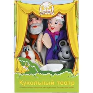 Жирафики Кукольный театр Курочка Ряба, 4 куклы 68320 цены онлайн