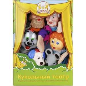 Жирафики Кукольный театр Репка, 6 кукол 68321 комплект из двух книг айрис репка теремок волшебный театр 3