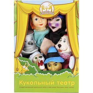 Жирафики Кукольный театр Волшебник изумрудного города, 6 кукол 68323 игровой набор peppa pig пеппа и зои 2 предмета 28814
