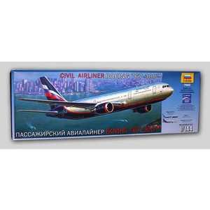 Звезда Модель Пассажирский авиалайнер Боинг 767-300 7005