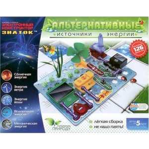 Электронный конструктор ЗНАТОК Знаток Альтернативные источники энергии 70096