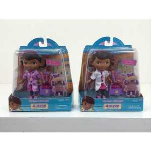 Disney Кукла Доктор Плюшева, Дотти с аксессуарами, 14 см 90045 игровые наборы disney игрушка доктор плюшева чемоданчик доктора