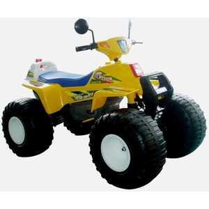 Электроквадроцикл Пламенный мотор Биг Рейсер (желтый) CT-650 YL0A пламенный мотор машинка инерционная volvo пожарная охрана