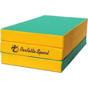 Мат складной PERFETTO SPORT № 4 (100х150х10см) зеленый 35 slots portable drawing sketch brush pencil pen case holder bag case pouch
