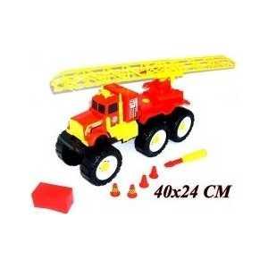 P.P.H.U. ERS Машина пожарная с ключом П-0064