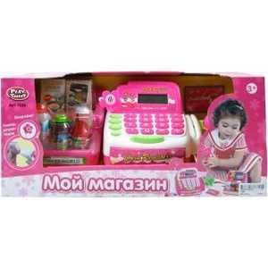 Shantou Gepai Касса Мой магазин 7255 shantou gepai игрушка пластм касса электронная продукты сканер shantou gepai