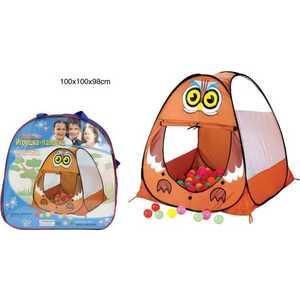 Палатка игровая Shantou Gepai Филин 8089 копилка филин 14см уп 1 36шт