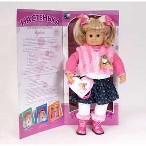 Shantou Gepai Кукла интерактивная Настенька MY007