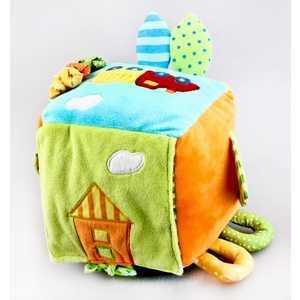 Жирафики Развивающая игрушка Куб Поезд 93498