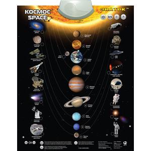 Купить электронный плакат ЗНАТОК Электронный плакат Космос PL-13-SPACE (356973) в Москве, в Спб и в России