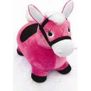 Наша Игрушка Лошадка-попрыгунчик розовая 63798