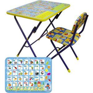 Набор мебели Ника Азбука СУ 1-5 (КУ 1/ 9) набор мебели ника маленькая принцесса су 1 4
