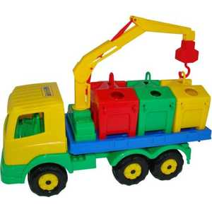 Автомобиль Полесье контейнеровоз 44181 полесье автомобиль дпс москва полесье