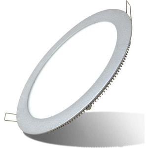 Встраиваемый светодиодный ультратонкий светильник Estares DL-14 Silver тёплый белый