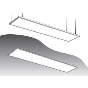 Светодиодная ультратонкая панель Estares DL-45-300x1200 теплый белый