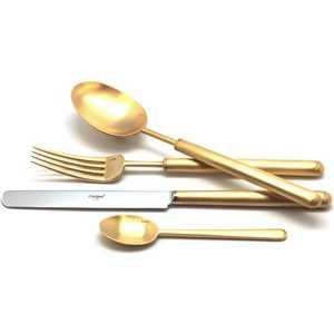 Набор столовых приборов Cutipol Bali gold из 24-х предметов 9312