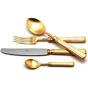 Набор столовых приборов Cutipol Line gold из 72-х предметов 9172-72
