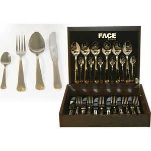 Набор столовых приборов Face London из 24-х предметов F-LG/ 24-AL