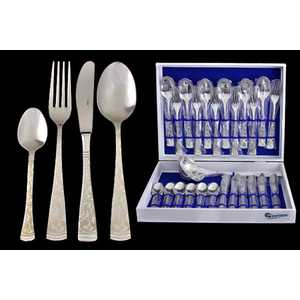 Набор столовых приборов Giorinox Dubai argento из 25 предметов GI6600-25-AL