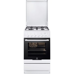 Комбинированная плита Electrolux EKK 951301 W варочная панель электрическая electrolux ehh56240ik черный