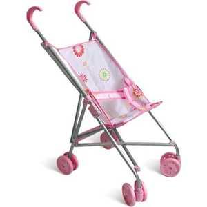 Коляска для кукол 1Toy розовая Т52257