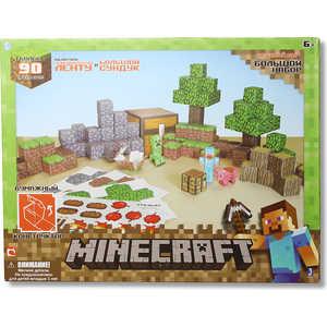 Minecraft Конструктор из бумаги ''Большой набор Делюкс'', 90 дет Т57241