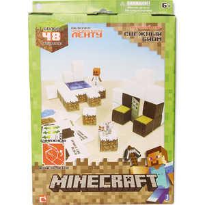 Minecraft Конструктор из бумаги Снежный биом, 48 дет Т57239 конструктор lepin creators магазинчик на углу 3 в 1 491 дет 24007