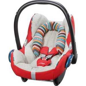купить Автокресло Maxi-Cosi Cabrio Fix Folkloric (красный) 61777080 дешево