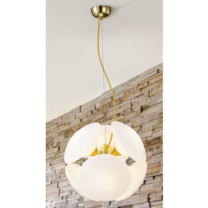Потолочный светильник Lucesolara 8001/6S Gold/White потолочный светильник lucesolara 1001 3s white
