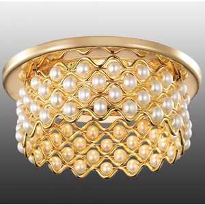Точечный светильник Novotech 369891 встраиваемый светильник novotech pearl 369891