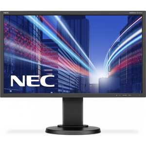 Монитор Nec E243WMi Black (E243WMI-Black) монитор nec as242w black