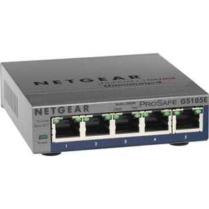 Коммутатор Netgear GS105E-200PES