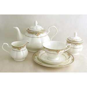 Чайный сервиз Emerald Лэнсбери из 21-го предмета E5-10-78/21-AL чайный сервиз emerald розовые цветы из 40 ка предметов e5 hv004011 40 al