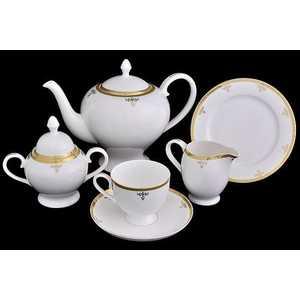 Чайный сервиз Emerald Ампир из 21-го предмета E5-09-24/21-AL