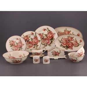 Столовый сервиз Hangzhou jinding Розы из 28-ми предметов 215-182